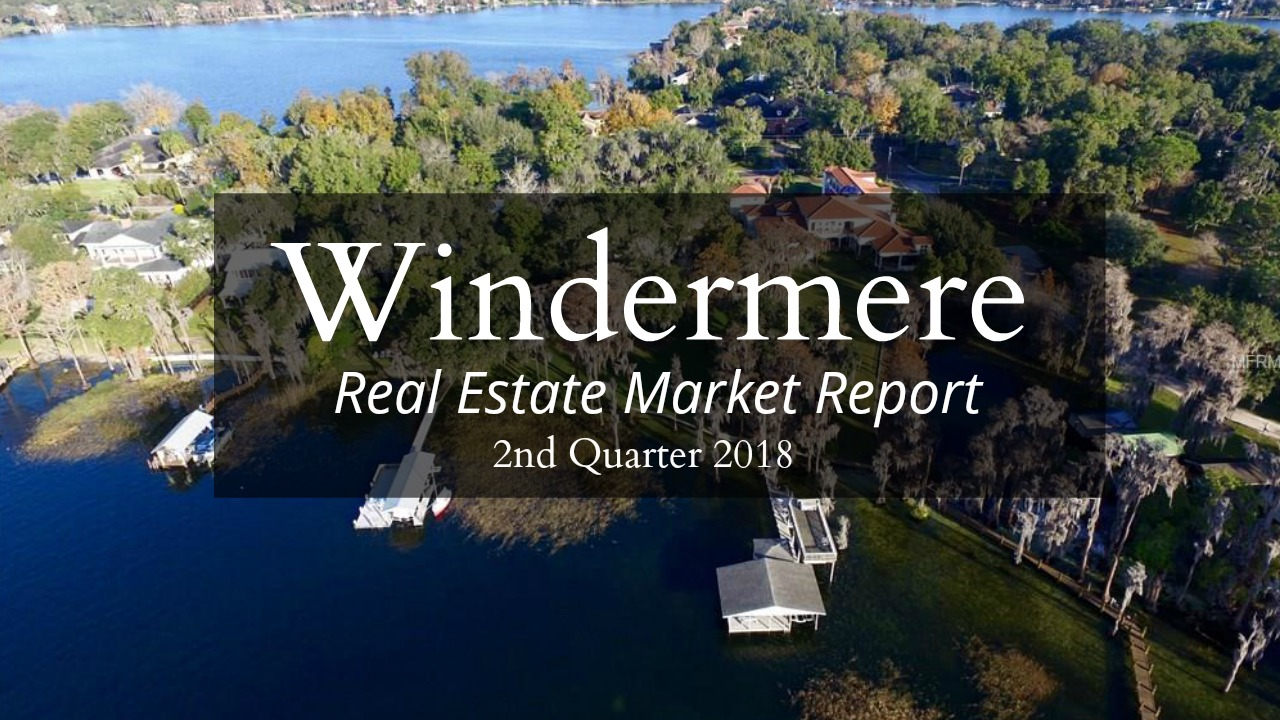2018 Windermere Market Report Demonstrates Growth